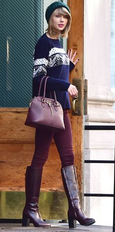 59 Reasons Why Taylor Swift Is a Street Style Pro - November 13, 2014 from #InStyle