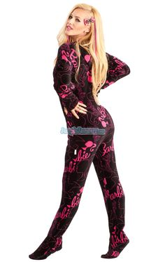 Barbie Footed PJ's ✻~BarbieWorld~✻