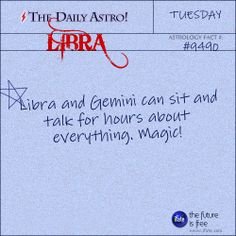 Libra Daily Astro!: Ever feel like you're not your sign?  Maybe your birth chart holds some clues.   Visit iFate.com today!
