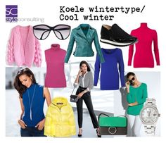"""""""Het koele wintertype/ cool winter color type."""" By Margriet Roorda-Faber, Style Consulting."""