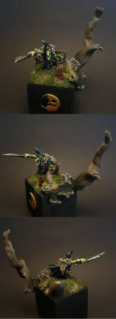 regiment base warhammer night goblin | Base, Goblin Warboss, Goblins, Night Goblins, Warhammer Fantasy