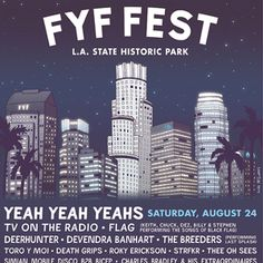 Tito's Handmade Vodka will be served at FYF Fest in Los Angeles August 24 & 25 2013!