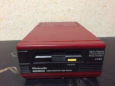 Famicom Disk System Japan NTSC-J Nintendo add-on JUNK needs new belt
