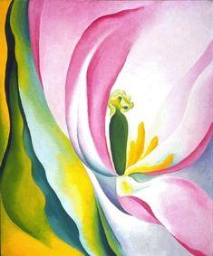 Georgia O'Keeffe - Pink Tulip, 1926.