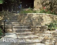 Learn the pros and cons of stone, wood and concrete block retaining walls