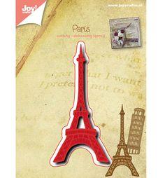 Joy!Crafts mallen 6002/0486 Eiffeltoren
