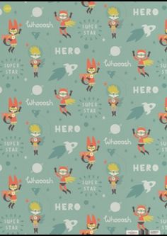 Hero wrapping paper by paper and cloth £2