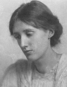 Virginia Woolf photographed by George Charles Bereford in July 1902