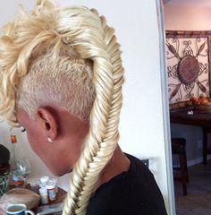 Fashion show hair
