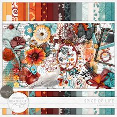 Spice Of Life :: Full & Mini Kits :: Memory Scraps
