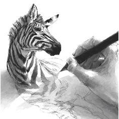 Amazing drawing. Surrealism.