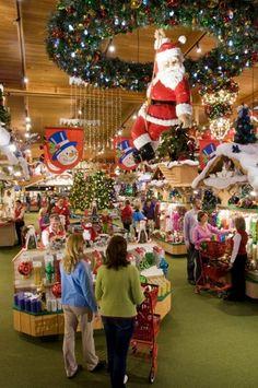 Bronners Christmas Wonderland - Frankenmuth, MI - Kid friendly activity reviews - Trekaroo