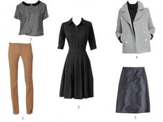 Pear shaped style tips. Great shared dress, especially with the fitted sleeves that cover the top of the arms.