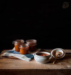 Salsa de tomates asados   Recetas con fotos paso a paso El invitado de invierno