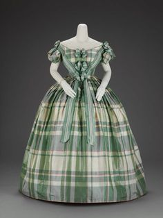 Ball Gown | c. 1860