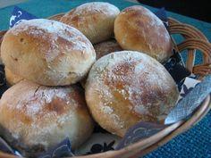Jogurttisämpylät Bread Recipes, Cooking Recipes, Finnish Recipes, Homemade Dinner Rolls, Savory Pastry, Good Food, Yummy Food, Bread Rolls, Bread Baking