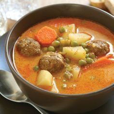 Meatball Soup Recipe - Food and Entertaining - Capper's Farmer