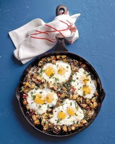 Don't limit this quick dish to weeknights; it makes a fabulous weekend brunch offering as well.
