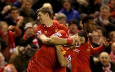 Liverpool Football Team, Liverpool Fc, Stevie G, Liverpool Wallpapers, Premier League Teams, Captain Fantastic, Free Kick, Steven Gerrard, Fc Barcelona