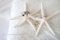 Wedding ring shot with starfish.    #wedding #photography #ring #starfish