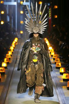 John Galliano Fall Winter 2007 Menswear