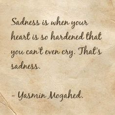 but i cry. i still cry. when will it ever get hardened? But in Allah swt I trust. I believe it is for the Best.