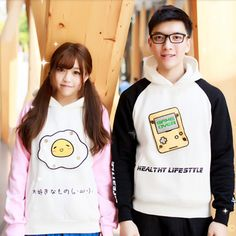 "Cute egg students hooded pullover   use coupon code ""cherry blossom"" for 10% off everytime you shop at (www.sanrense.com)."