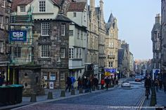 Street photography, Edinburgh