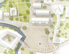 arbos (2015): Neugestaltung Schlossplatz / Dammfeste, Wolfenbüttel (DE), via competitionline.co