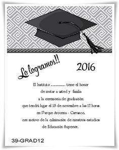 Tarjetas de Graduación www.tarjetas.net.uy Montevideo-Uruguay