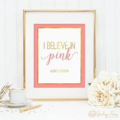 """""""I BELIEVE IN PINK.""""  #pink"""