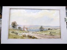 WATERCOLOUR PART ONE IN THE HIGHLANDS - YouTube