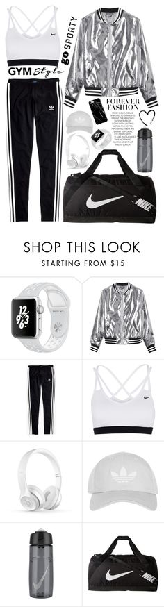"""Sporty🏃🏻‍♀️"" by eiriniyiann ❤ liked on Polyvore featuring Sans Souci, Madewell, NIKE, Topshop and Recover"