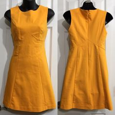 NWT ASOS COCKTAIL DRESS size 2 NWT! It's a very unique yellow orange color. It's has some stretch to it. 4%Elastane. 48%Cotton. 48%Polyester.   No stains or tears.   We are a smoke-free household  Bust: 16 in  Waist: 14 in Length: 31 in Shoulder: 13 in  ‼️The measurements are approximation only as I am not a seamstress‼️  Follow me  INSTAGRAM: augustpinkstyle  TWITTER: augustpinkstyle  PINTEREST: augustpinkstyle YOUTUBE CHANNEL: augustpinkstyle WEBSITE: www.augustpinkstyle.com ASOS Dresses