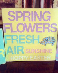 Hoppy Easter, Spring Flowers, Diy, Bricolage, Do It Yourself, Fai Da Te, Diys
