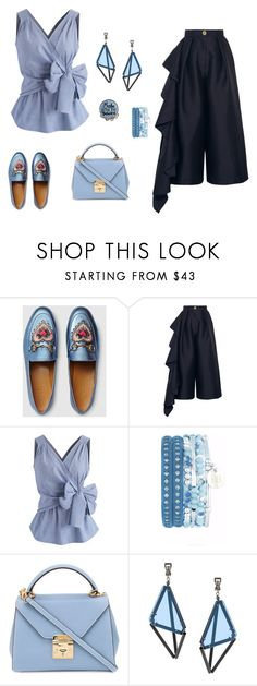 """""""Wednesday mood"""" by skamex on Polyvore featuring Gucci, Solace, Chicwish, Mark Cross and Issey Miyake"""