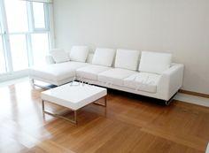 Max2917- L-Shape Leather Sofa