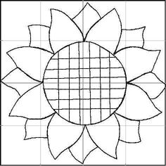 Sunflower quilting square for embroidery sizes and Stop paying high pr Quilt Square Patterns, Quilt Block Patterns, Mosaic Patterns, Quilt Blocks, Embroidery Patterns, Stained Glass Designs, Stained Glass Patterns, Sunflower Template, Sunflower Quilts