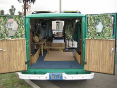Living space surf van.... Sometimes I feel like I took the wrong path; how nice would such a simple life like this be...?