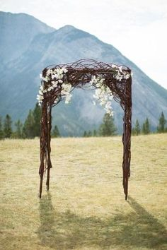 Chuppah (Huppah) Ideas for Your Jewish Wedding Wedding Altars, Wedding Ceremony, Our Wedding, Dream Wedding, Ceremony Arch, Outdoor Ceremony, Wedding Arches, Wedding Rustic, Wedding Chuppah