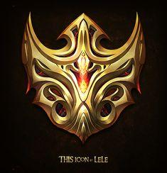 icon Armour Tattoo, Fantasy Logo, Eagle Wallpaper, Casual Art, Element Symbols, Game Logo Design, Shield Design, Skull Logo, Environment Concept Art