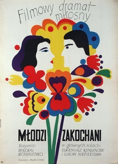 Young People in Love, Polish Movie Poster