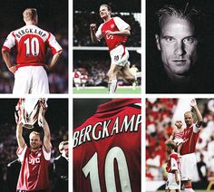 Bergkamp Montage. Arsenal Football, Arsenal Fc, Football Soccer, Football Players, Dennis Bergkamp, Flying Dutchman, North London, World's Most Beautiful, Arsenal F.c.