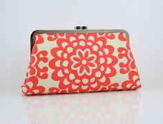 coral purse