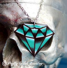 Big Ol Traditional Tattoo Diamond