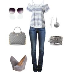 Love It!!!  Jeans Outfit, created by Pamelixus on Polyvore