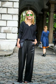 YOU ARE THE STYLE: All Black, London Fashion Week SS14