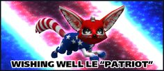 LE 2013 Patriot for the 4th of July!  Cutie Pie!