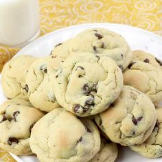 Once you try these Chocolate Chip Pudding Cookies, youll insist on making cookies with pudding in the mix again and again. It has magical powders making really tender, soft cookies! Best Chocolate Chip Cookie Recipe Ever, Best Chocolate Chip Cookies Recipe, Chocolate Recipes, Homemade Cookies, Cookies With Pudding, Healthy Chocolate, Chocolate Chips, Easy Cookie Recipes, Dessert Recipes