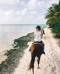 Punta Cana Excursions- Dominican Republic- Horseback Riding on Bavaro Beach- Honeymoon Planning- Sweet Moon Travel Co
